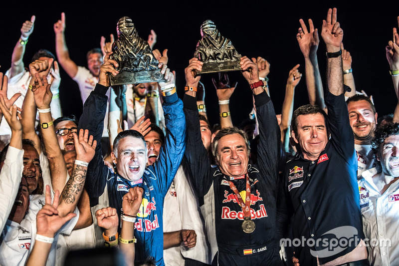 Rally Dakar (coches): Carlos Sainz y Lucas Cruz