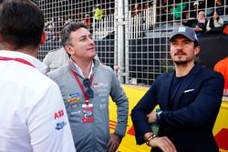 Alejandro Agag, Formula E CEO, ve aktör Orlando Bloom