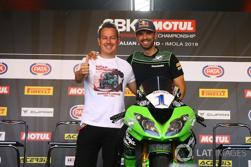 Manuel Puccetti, Kenan Sofuoğlu, Kawasaki Puccetti Racing