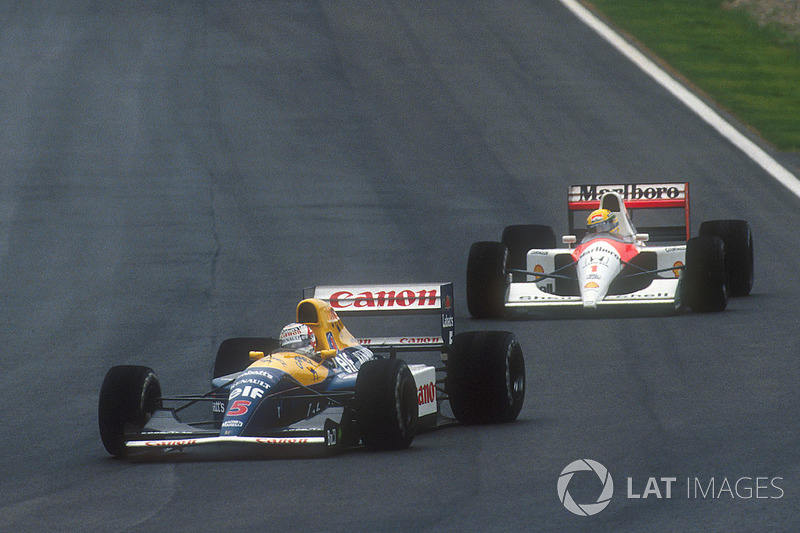 1991: Nigel Mansell, Williams FW14 Renault