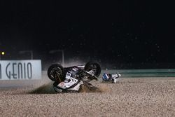 Sturz: Raffaele De Rosa, Althea Racing