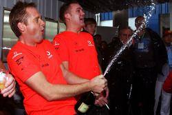 McLaren viert de wereldtitel van Lewis Hamilton, McLaren