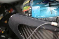 Il casco di Francesca Linossi, Dinamic Motorsport