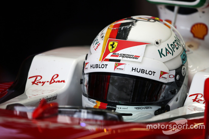 Sebastian Vettel en el GP de Japón 2016 (Ferrari)