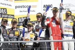 Junior- und Gentlemenpodium: #63 GRT Grasser-Racing-Team, Lamborghini Huracán GT3: Rolf Ineichen, Ch