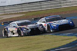 #24 Kondo Racing Nissan GT-R Nismo GT3: Daiki Sasaki, Masataka Yanagida and #37 Team Tom's Lexus RC F: James Rossiter, Ryo Hirakawa
