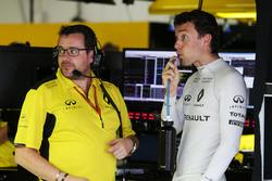 Julien Simon-Chautemps, Renault Sport F1 Team Race ingeniero con Jolyon Palmer, Renault Sport F1 Tea