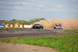 Екатерина Седых, Nissan Silvia S15 и Павел Бусыгин, Toyota Supra