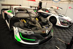 #3 R-ace GP Racing, Renault RS01: Kevin Korjus, Fredrik Blomstedt