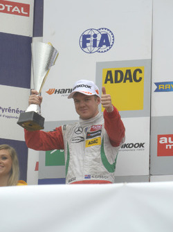 Подиум: Ник Кэссиди, Prema Powerteam Dallara F312 – Mercedes-Benz