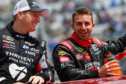 Michael McDowell, Circle Sport Leavine Family Racing, Matt DiBenedetto, BK Racing Toyota
