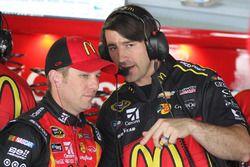 Jamie McMurray, Chip Ganassi Racing Chevrolet y el jefe del equipo Matt McCall
