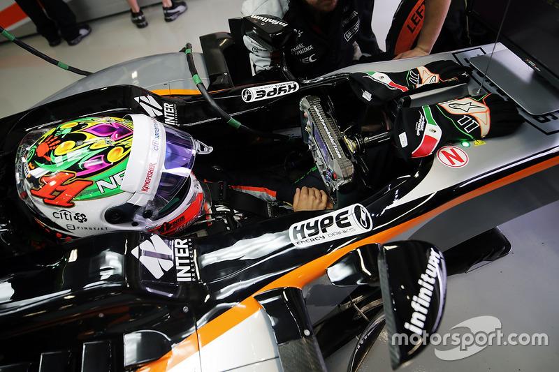 Mexique 2016 - Sergio Perez, Force India