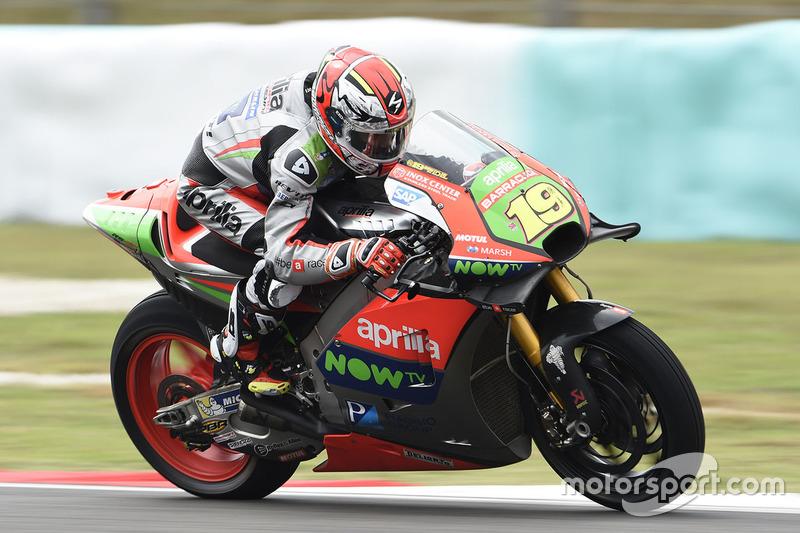2016: Álvaro Bautista (Aprilia RS-GP)