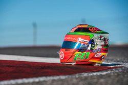 Il casco speciale che Esteban Gutiérrez, Haas F1 Team, userà nel GP del Messico