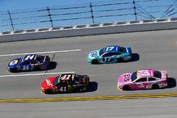 Chase Elliott, Hendrick Motorsports Chevrolet, Kurt Busch, Stewart-Haas Racing Chevrolet, Ricky Sten