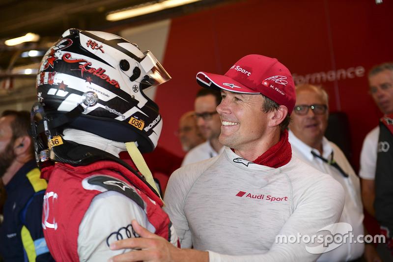 Polesitters Andre Lotterer, Marcel Fässler, Audi Sport Team Joest