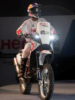 CS Santosh, Hero MotoSports Team Rally