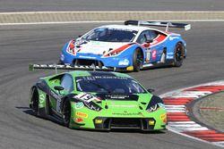 #19 GRT Grasser Racing Team Lamborghini Huracan GT3: Luca Stolz, Michele Beretta, Andrea Piccini