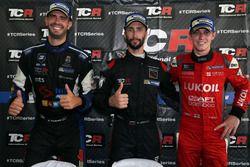 Conferenza stampa: il vincitore della gara Mikhail Grachev, Honda Civic TCR , WestCoast Racing; il s