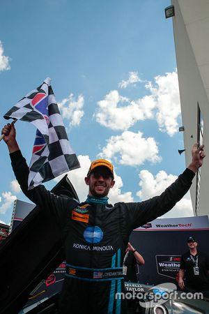 Sieger: #10 Wayne Taylor Racing, Corvette DP: Ricky Taylor, Jordan Taylor