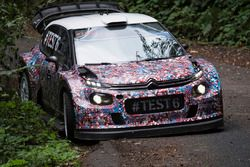 Kris Meeke, Paul Nagle, Craig Breen und Scott Martin , Citroën World Rally Team, Citroën C3 WRC Plus