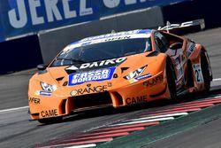 #27 Team Lazarus Lamborghini Huracan GT3: Thomas Biagi, Fabrizio Crestani