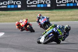Valentino Rossi, Yamaha Factory Racing, Jorge Lorenzo, Yamaha Factory Racing, Marc Marquez, Repsol Honda Team