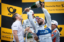 Podio: Gary Paffett, Mercedes-AMG Team ART, Mercedes-AMG C63 DTM