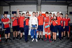 Egor Orudzhev, Arden Motorsport y Aurélien Panis, Arden Motorsport