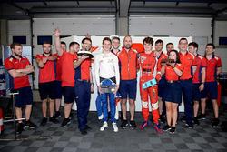 Egor Orudzhev, Arden Motorsport et Aurélien Panis, Arden Motorsport