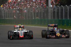 Esteban Gutiérrez, Haas F1 Team VF-16, Daniil Kvyat, Scuderia Toro Rosso STR11