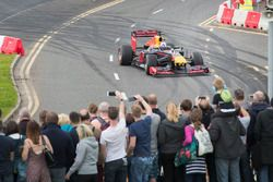 David Coulthard, Red Bull Racing demo run
