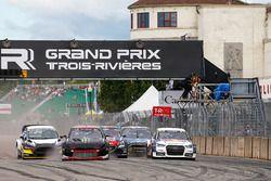 Петтер Сольберг, PSRX Citroën DS3 RX и Маттиас Экстрем, EKS RX Audi S1