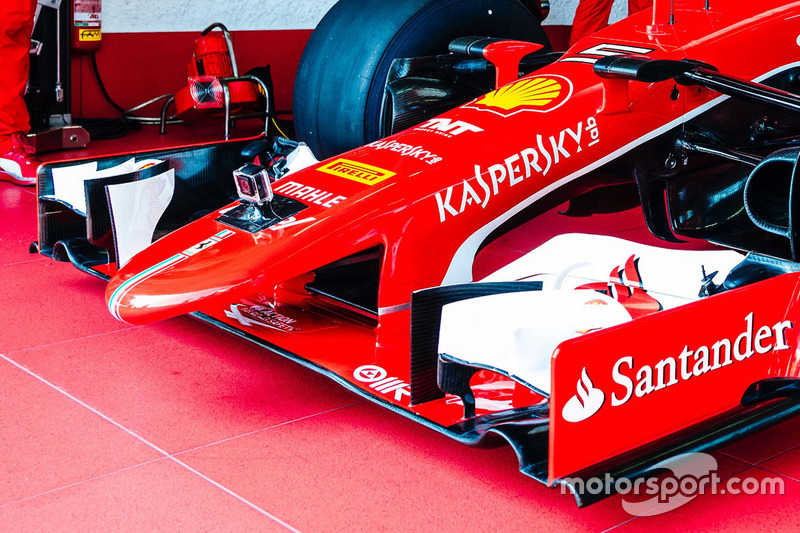Ferrari SF15-T nose detail