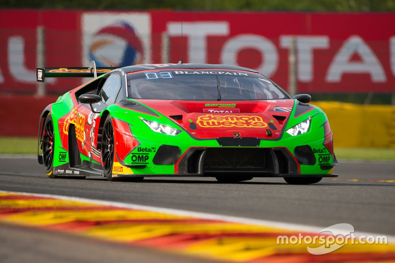 17. #666 Barwell Motorsport, Lamborghini Huracan GT3