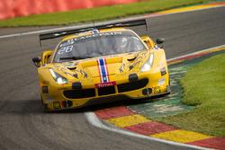#50 AF Corse, Ferrari 488 GT3: Pasin Lathouras, Michele Rugolo, Alessandro Pier Guidi