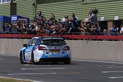 Ganador de la carrera Colin Turkington, Silverline Subaru BMR Racing