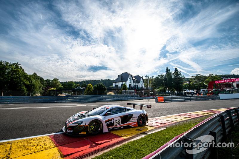 Shane van Gisbergen, Côme Ledogar, Rob Bell, McLaren 650 S GT3
