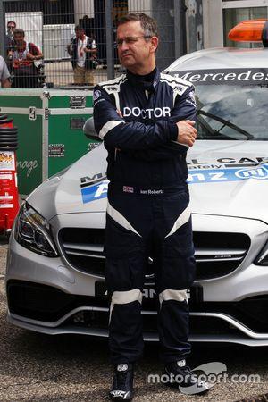 Dr Ian Roberts, FIA Doctor