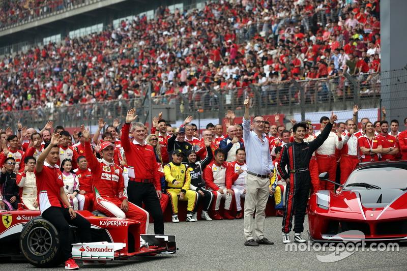 the Ferrari Drivers