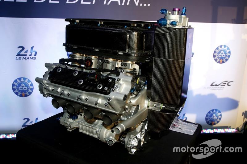 Conferencia de prensa de la ACO: Motor Gibson V8