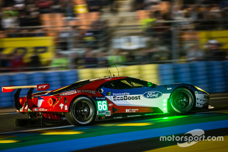 32: #66 Ford Chip Ganassi Racing Ford GT: Olivier Pla, Stefan Mücke, Billy Johnson