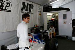 Daniel de Jong, MP Motorsport & Oliver Rowland, MP Motorsport