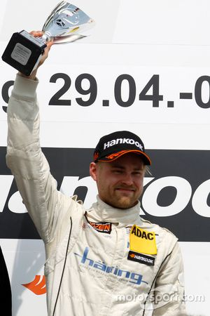 Podium: Sieger Antti Buri, LMS Racing, SEAT Leon TCR