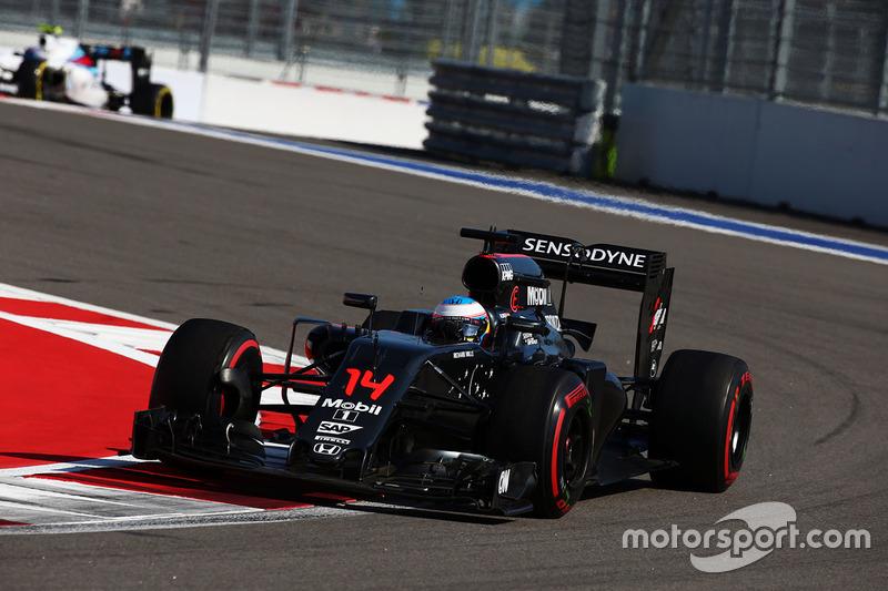 Deux McLaren dans le top 10