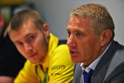 Boris Rotenberg, SMP Bank and SGM Group Co-Owner and Sergey Sirotkin, Renault Sport F1 Team