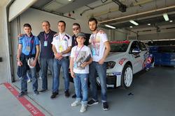 Davit Kajaiam, Liqui Moly Team Engstler, Volkswagen Golf GTI TCR con invitados