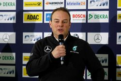 Press conference: Ullrich Fritz, Team Principal Mercdes AMG