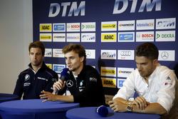 Press Conference: António Félix da Costa, BMW Team Schnitzer, BMW M4 DTM, Lucas Auer, Mercedes-AMG T